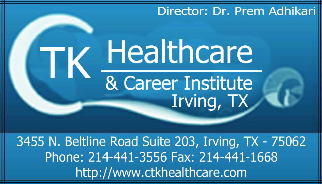Ctk Healthcare And Career Institute Start Your Career Here
